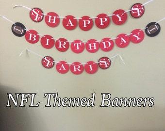 NFL Themed Banner