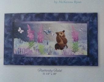 Aurora Ridge~Block 2~Flutterby Field~McKenna Ryan Pine Needles Wildlife Nature Pattern PT268