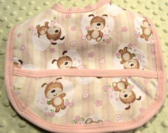 Baby Bib, Precious Baby Bear Design