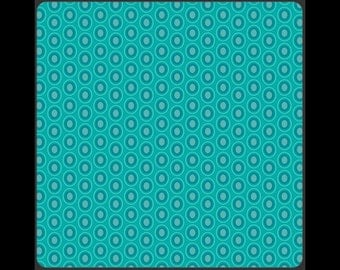 "Art Gallery ""oval element"" Blue Lagoon turquoise"