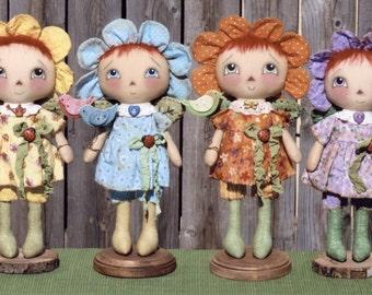Primitive PATTERN Lil Le Fleur Annies