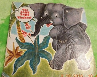 A Golden Shape Book The Saggy Baggy Elephant