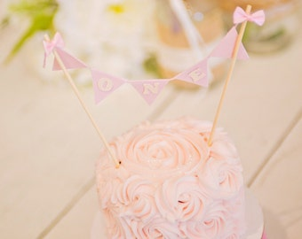 Number Cake Topper, cake banner, cake topper, smash cake topper