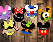 Custom Disney Cruise Mickey Magnets Mickey Mouse Club House