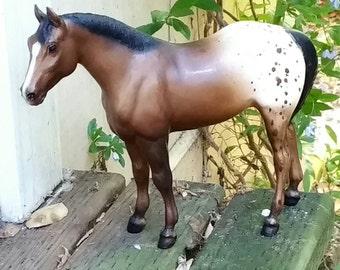 Breyer Sandy Bay Appaloosa Quarter Horse circa 1980s
