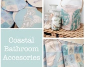 Coastal Linen Makeup Bag