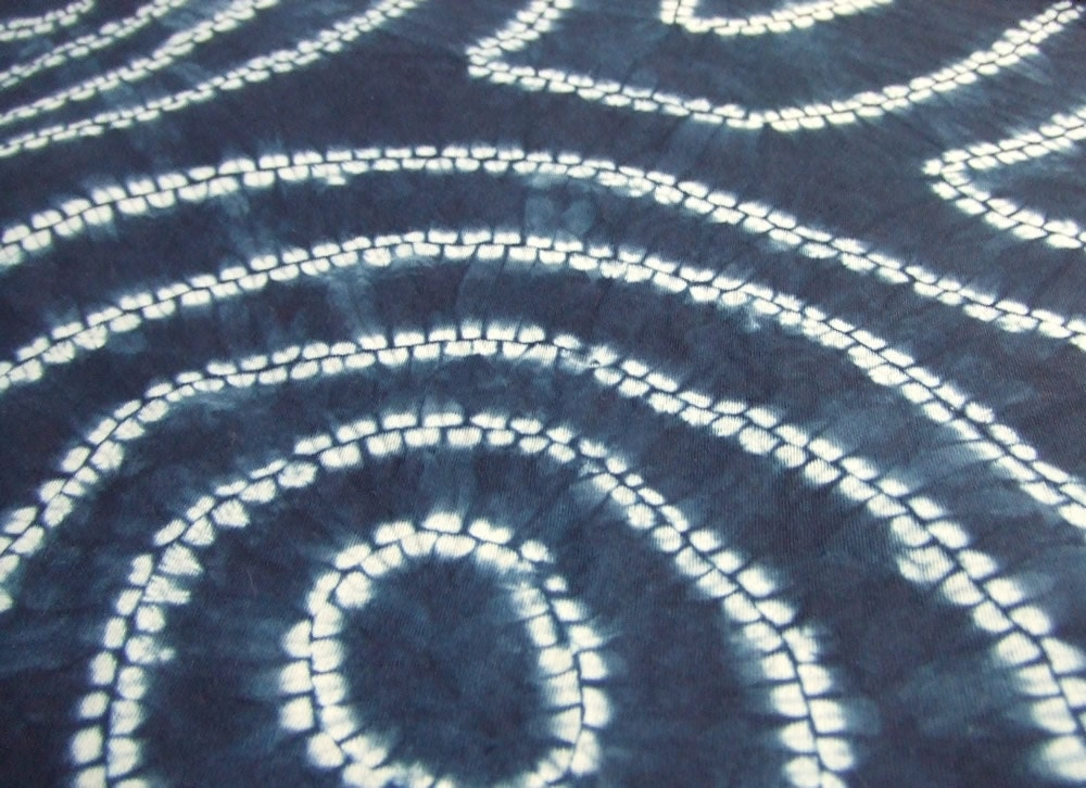 Fat quarter indigo fabric indigo shibori Japanese fabric