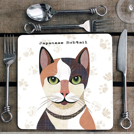 Japanese Bobtail cat p...