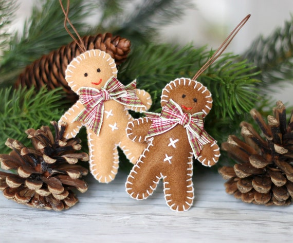 Gingerbread Man, Christmas Ornament, Christmas Decoration, Christmas Ornament, Gingerbread,Hanging Decor,Tree Decoration,Tree Ornament,Brown