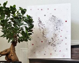 Original Abstract Painting, Canvas Art, Original Acrylic Painting, 16 x 20