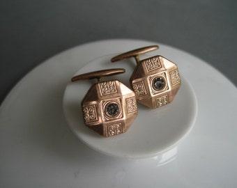 Lovely antique gold filled cufflinks.