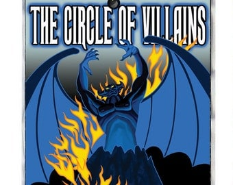New Chernabog The Circle of Villains Member Name Badge