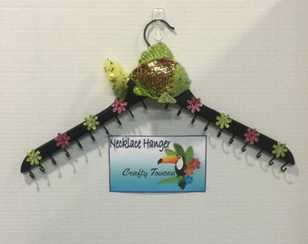 Fish Jewelry Organizer - Jewelry Display - Jewelry Hanger - Necklace Storage - Wall Hanger - Jewelry Holder - Teen Room Deco