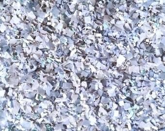 Ice Blue Confetti Biodegradable Vintage Wedding Cornflower Powder Dusky Dusty Blue Throwing Decoration InsideMyNest (25 Guests)