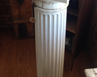 Antique Painted Wooden Columns
