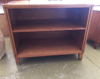 mid century bookcase by Russell Wright for conant ball steal this bookcase take 50% off