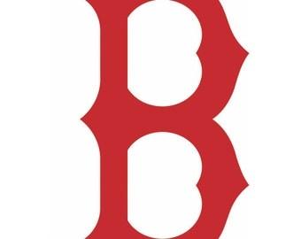 Boston Red Sox Vinyl Decal