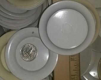"3"" Round Mini Trays...LoT of 150 ..Plastic"