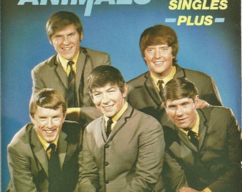 The Animals Audio CD Album - The Singles Plus - Rhythm And Blues Music - 1964 to 1965