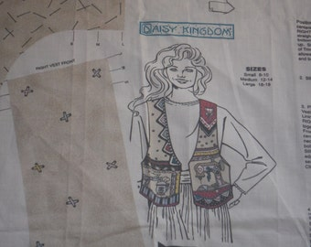 "DAISY KINGDOM ""Sew Cozy /Simply the Best Vest""  Adult"