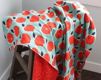 Triple layer baby blanket