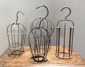 Industrial Bulb Cages Bulb Guards Hanging Pendants