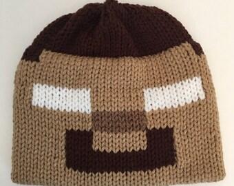 Herobrine Inspired - Beanie - Hat - Minecraft Beanie - Herobrine - Halloween Costume