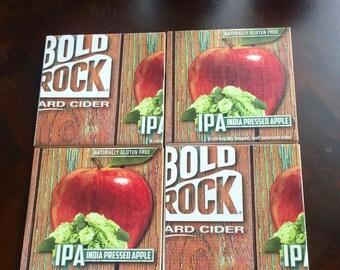 Bold Rock IPA Beer Box Coasters