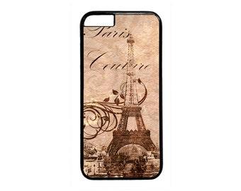 New Vintage Postcard Paris Eiffel Tower case for iPhone 4 4s 5 5s  5C 6 6s 6 Plus 7 7 Plus iPod Touch 4 5 6 case Cover