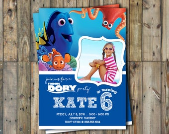 Finding Dory Invitation
