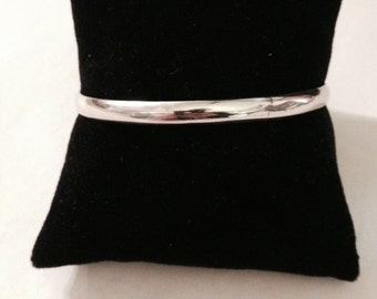 Vintage Taxco Sterling Silver Bangle Bracelet