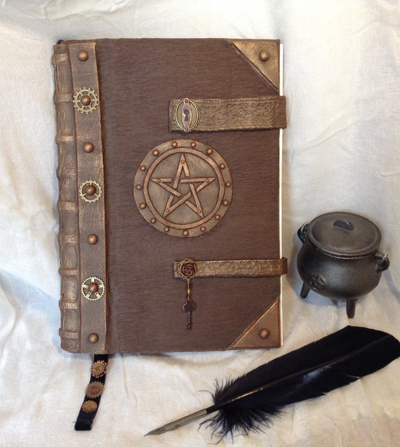 Items Similar To Halloween Sale Steampunk Book Of Shadows