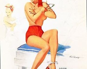 1950's Pin Up Poster 49 A3/A2/A1 Print