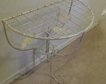 Vintage Metal Ornate Table