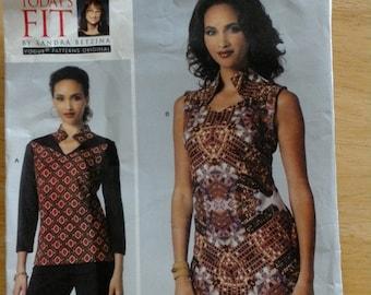 Sandra Betzina Top and Dress Pattern - V1429 - UNCUT