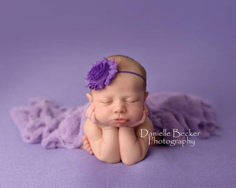 Stretch Knit wrap in Lavender, newborn wrap, photography prop wrap, stretch wrap, newborn pictures