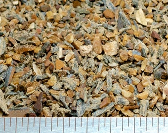 Crushed Tigers Eye - Large Sand - 100% Natural Without Fillers