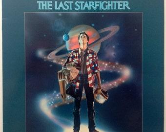 The Last Starfighter - Original Motion Picture Soundtrack LP Vinyl Record Album, Southern Cross Records - SCRS 1007, 1984, Original Pressing