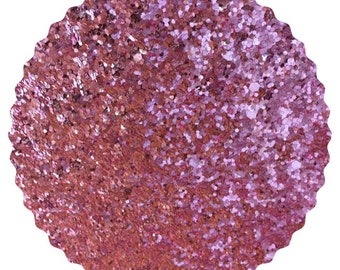 Chunky Pink Glitter Fabric Sheet 0.7mm Thick A4 or A5 Sheets Chunky Rose Pink Glitter A4 A5 Sheets