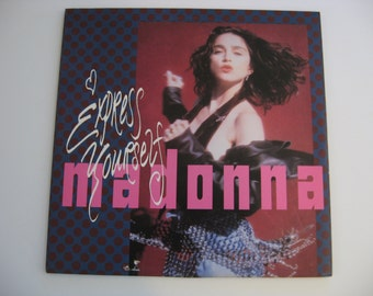 Madonna - Express Yourself - Circa 1989