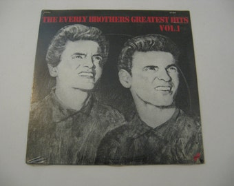 Factory Sealed! - The Everly Brothers - Greatest Hits Vol 1 - 1977