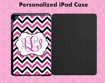 Monogram iPad Case - iPad Air Case - iPad Mini Case - Personalized iPad Air Case - iPad Mini 1 2 3 4 - iPad Air 2 Case
