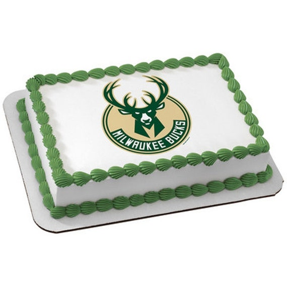 NBA Milwaukee Bucks Edible Cake And Cupcake By ArtofEricGunty