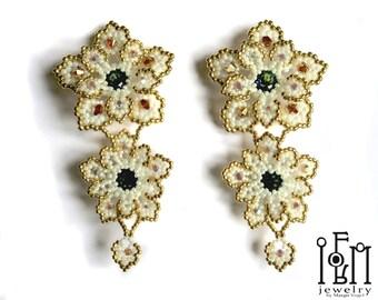Beaded Earring - Frangpinani Earring