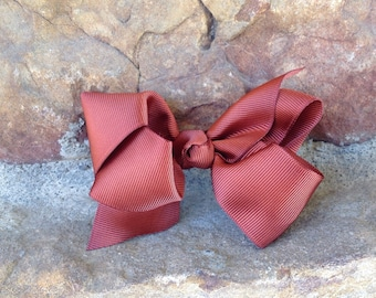 Medium size brown bow
