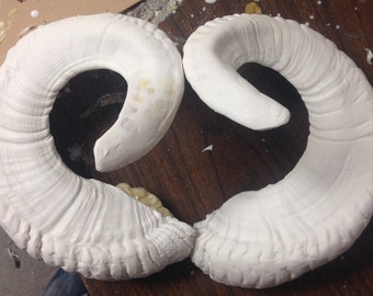 how to make costume ram horns