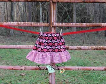 Valentine's Day Ruffle Skirt