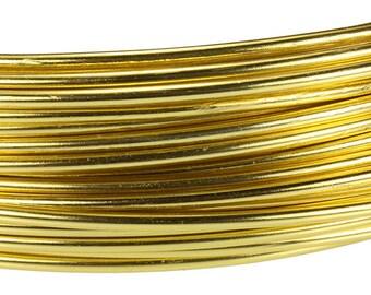 Aluminum Wire Light Gold Color Wire 12ga 39 Feet Per Bag (WR72112)