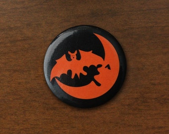 "Hallow's Eve 1.25"" Pin"