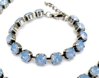 AIR BLUE OPAL--Swarovski Crystal Bracelet